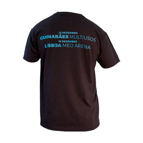 """""""Meo Arena + Multiusos Guimarães"""" T-Shirt – Homem"""